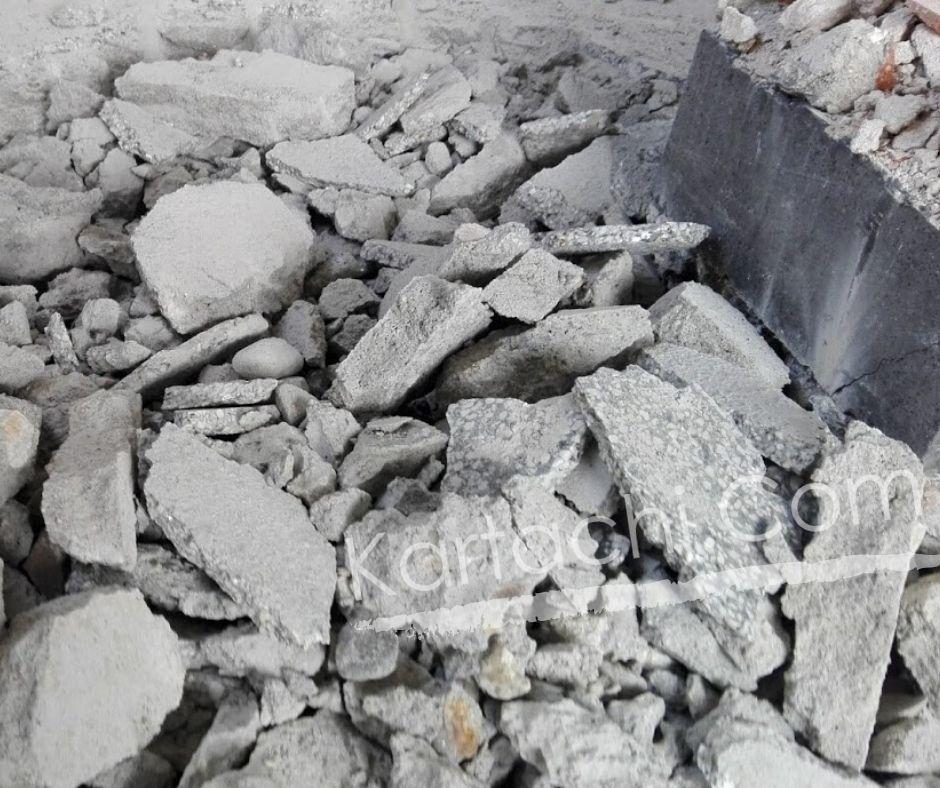 Кърти чисти извозва бетон, мозайка, теракота