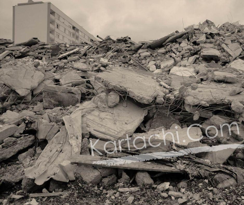 Бетон, къртене на бетон с арматура