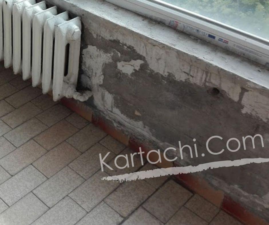 Къртене на подпрозорец в София